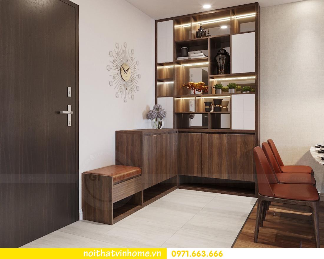 thiết kế nội thất chung cư Ngoại Giao Đoàn NT01-T4 Chị Hương 01