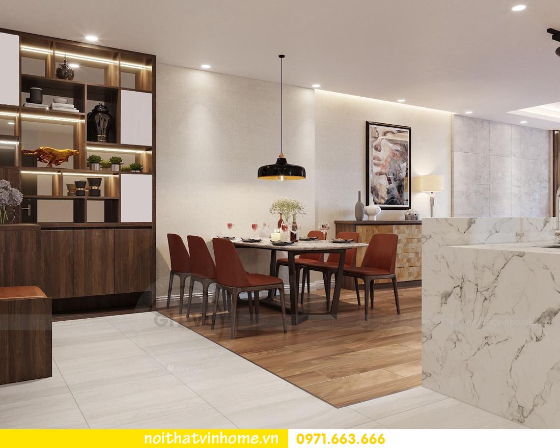 thiết kế nội thất chung cư Ngoại Giao Đoàn NT01-T4 Chị Hương 02