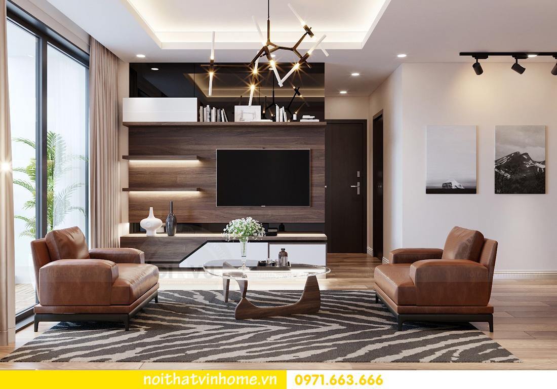 thiết kế nội thất chung cư Ngoại Giao Đoàn NT01-T4 Chị Hương 04