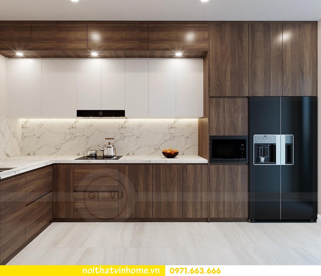 thiết kế nội thất chung cư Ngoại Giao Đoàn NT01-T4 Chị Hương 05