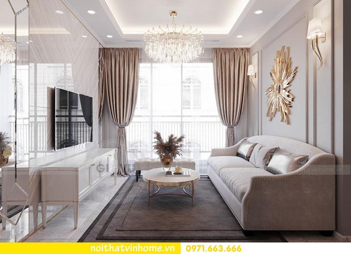 thiết kế nội thất chung cư Vinhomes DCapitale chị Tuyết 03