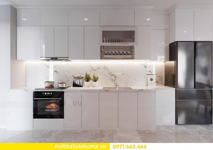 thiết kế nội thất chung cư Vinhomes DCapitale chị Tuyết 04
