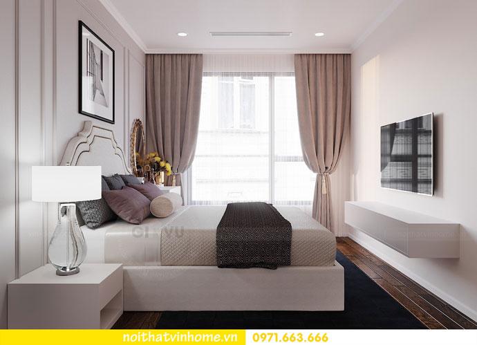thiết kế nội thất chung cư Vinhomes DCapitale chị Tuyết 05