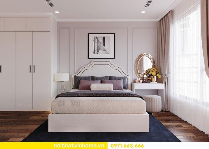 thiết kế nội thất chung cư Vinhomes DCapitale chị Tuyết 06
