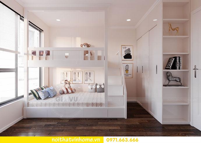 thiết kế nội thất chung cư Vinhomes DCapitale chị Tuyết 07