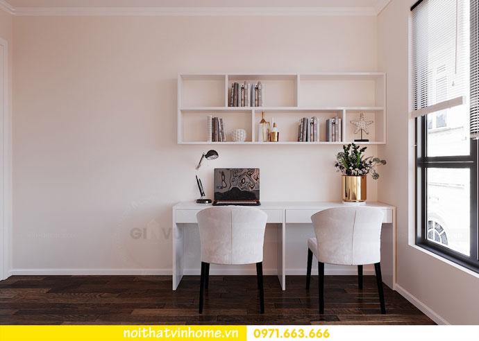 thiết kế nội thất chung cư Vinhomes DCapitale chị Tuyết 08