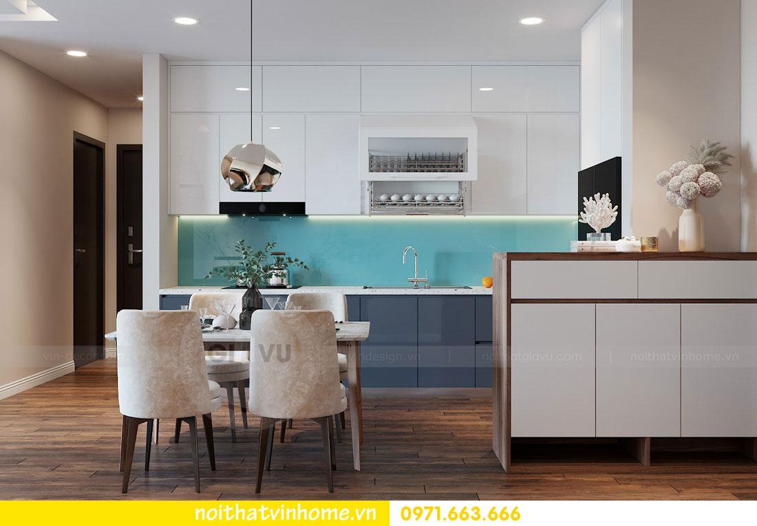 thiết kế nội thất chung cư Vinhomes Metropolis tòa M2 căn 15 2