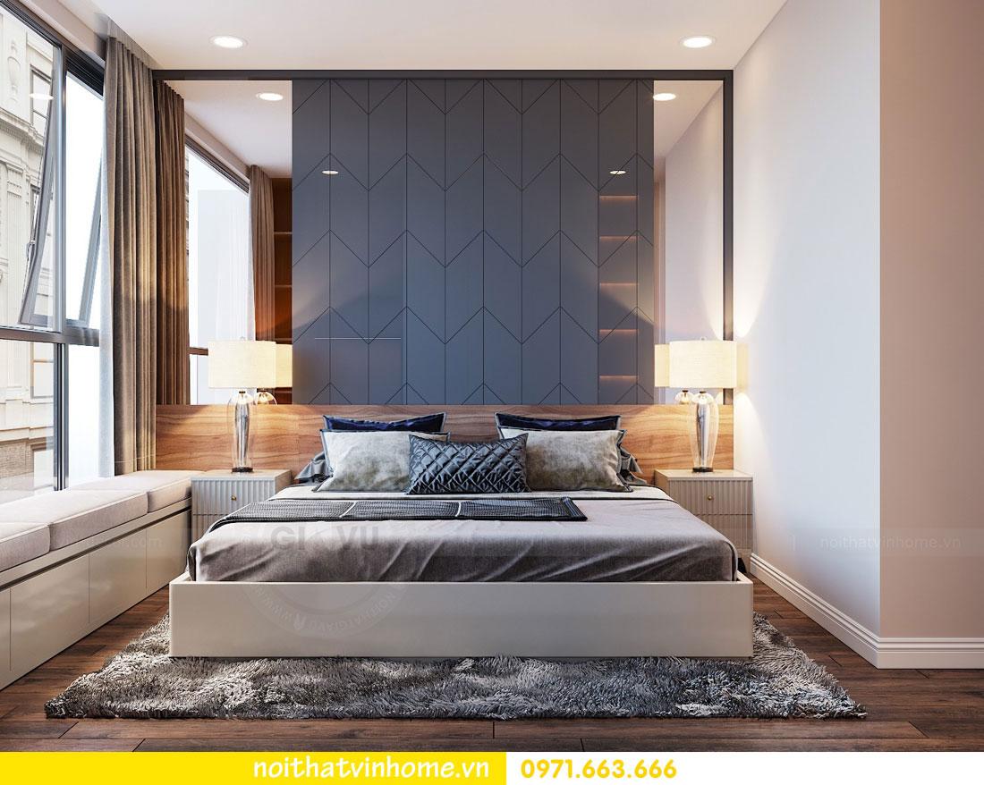 thiết kế nội thất chung cư Vinhomes Metropolis tòa M2 căn 15 5