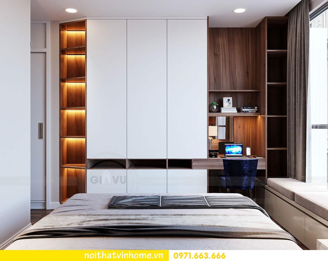 thiết kế nội thất chung cư Vinhomes Metropolis tòa M2 căn 15 7