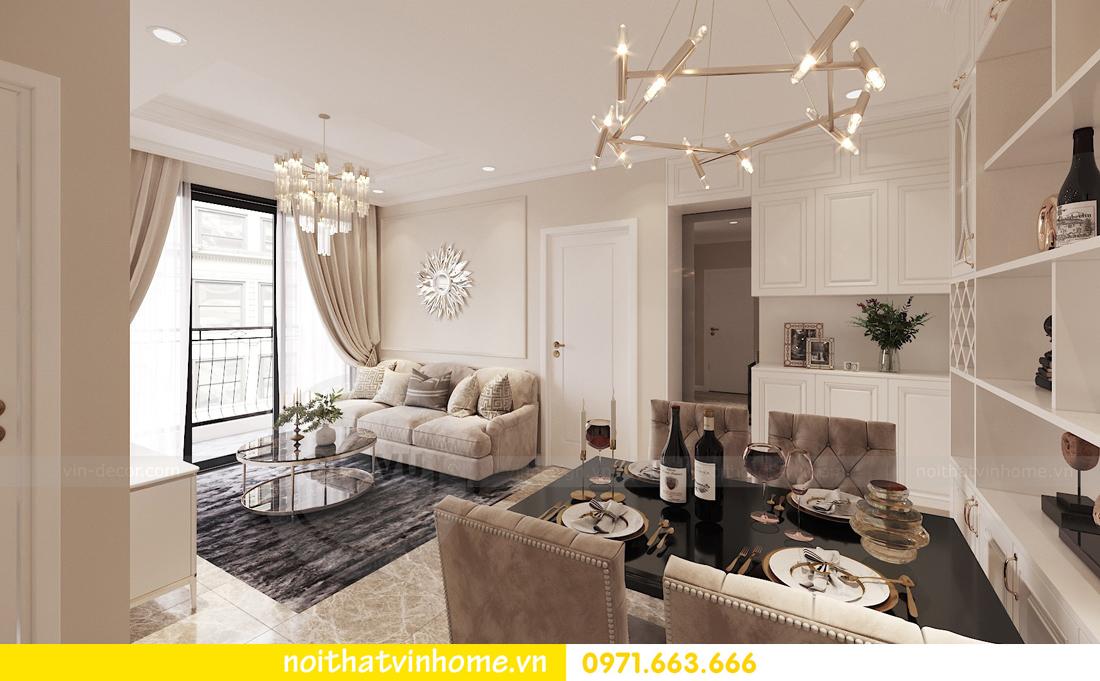 thiết kế nội thất Vinhomes DCapitale tòa C3 căn 02 nhà chị Phương 01