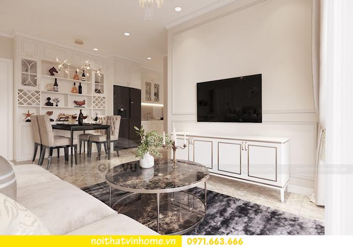 thiết kế nội thất Vinhomes DCapitale tòa C3 căn 02 nhà chị Phương 03