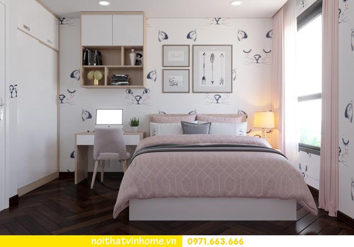 thiết kế nội thất Vinhomes DCapitale tòa C3 căn 10 10