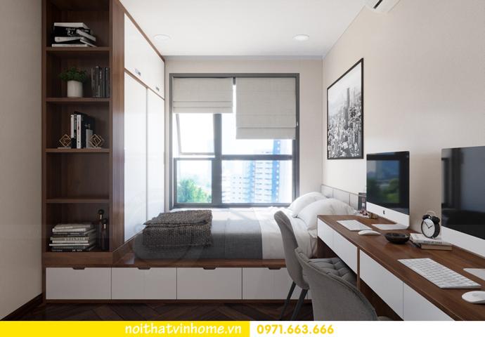 thiết kế nội thất Vinhomes DCapitale tòa C3 căn 10 11