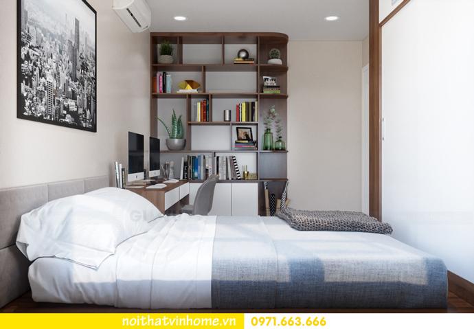 thiết kế nội thất Vinhomes DCapitale tòa C3 căn 10 13