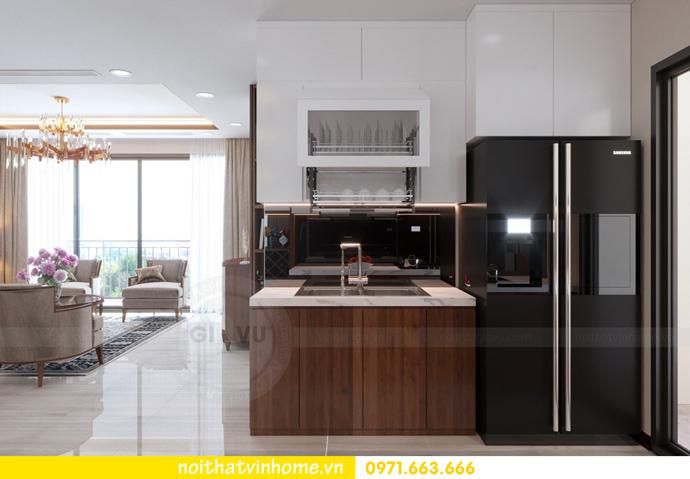 thiết kế nội thất Vinhomes DCapitale tòa C3 căn 10 3