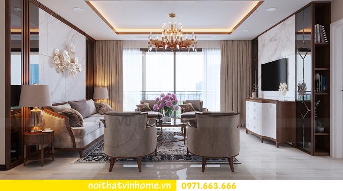thiết kế nội thất Vinhomes DCapitale tòa C3 căn 10 4
