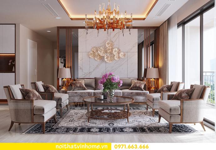 thiết kế nội thất Vinhomes DCapitale tòa C3 căn 10 5