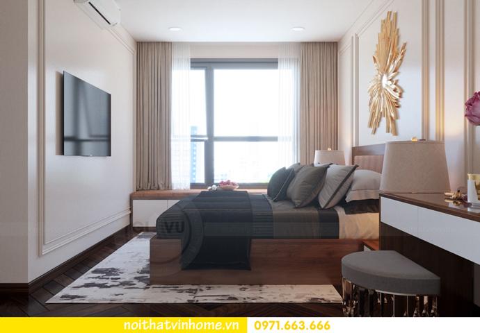 thiết kế nội thất Vinhomes DCapitale tòa C3 căn 10 7