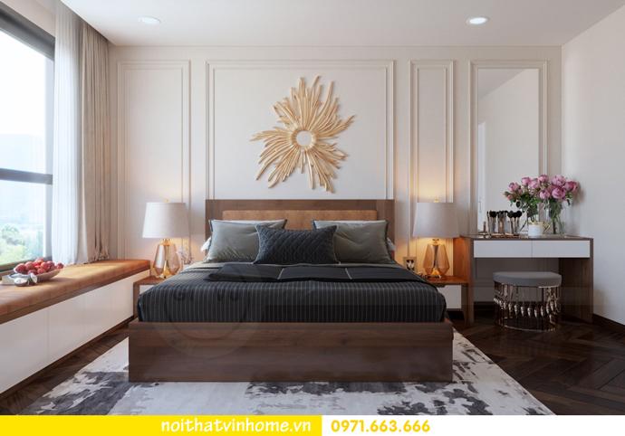 thiết kế nội thất Vinhomes DCapitale tòa C3 căn 10 8