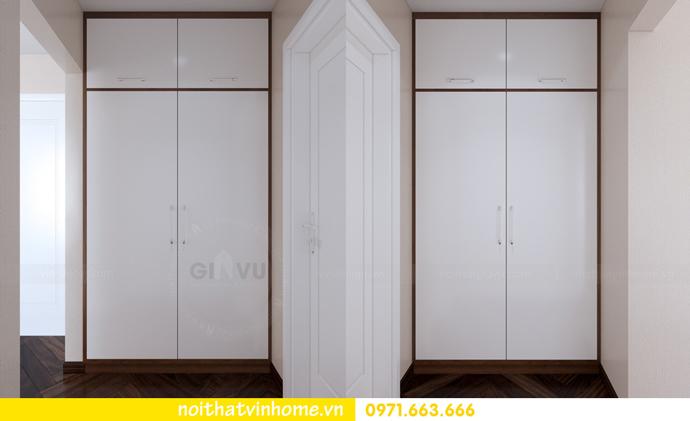 thiết kế nội thất Vinhomes DCapitale tòa C3 căn 10 9