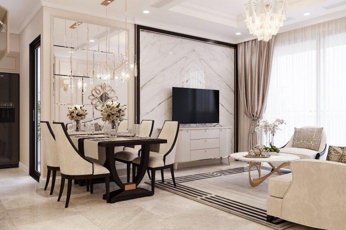 thiết kế nội thất Vinhomes Trần Duy Hưng