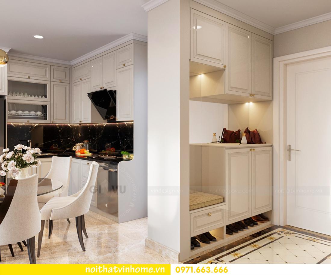 thiết kế thi công nội thất chung cư DCapitale tòa C7 căn 08 anh Sơn 01