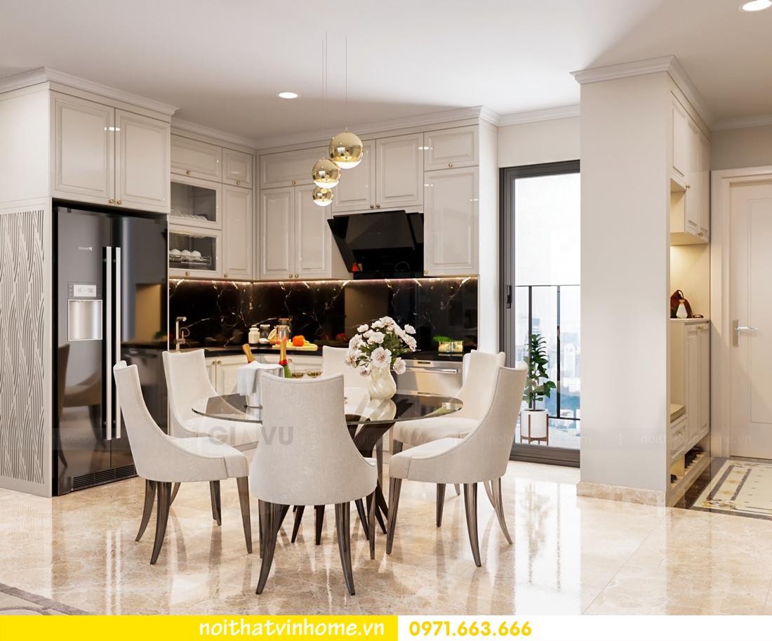 thiết kế thi công nội thất chung cư DCapitale tòa C7 căn 08 anh Sơn 02