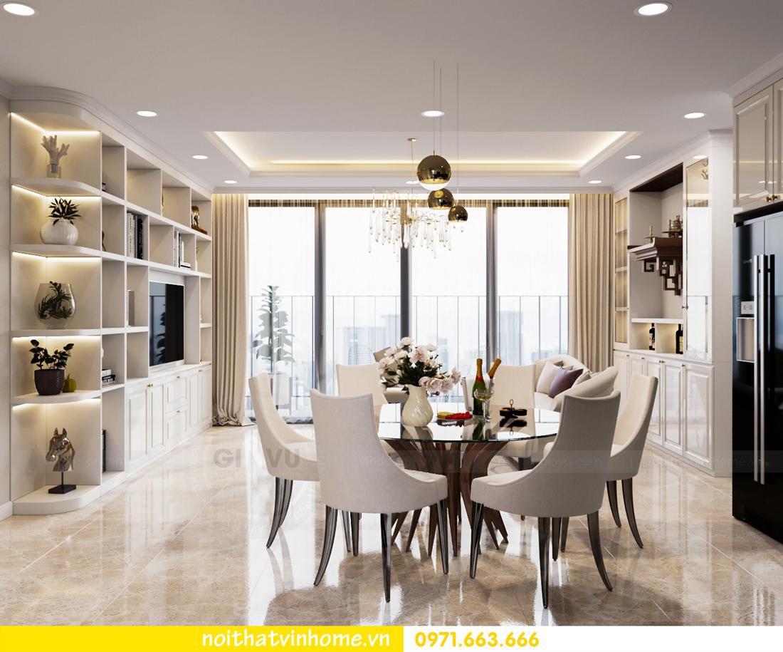 thiết kế thi công nội thất chung cư DCapitale tòa C7 căn 08 anh Sơn 03