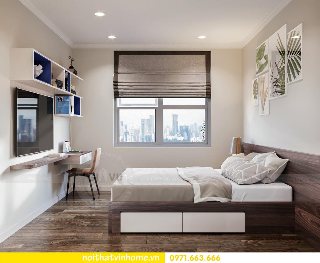 thiết kế thi công nội thất chung cư DCapitale tòa C7 căn 08 anh Sơn 09