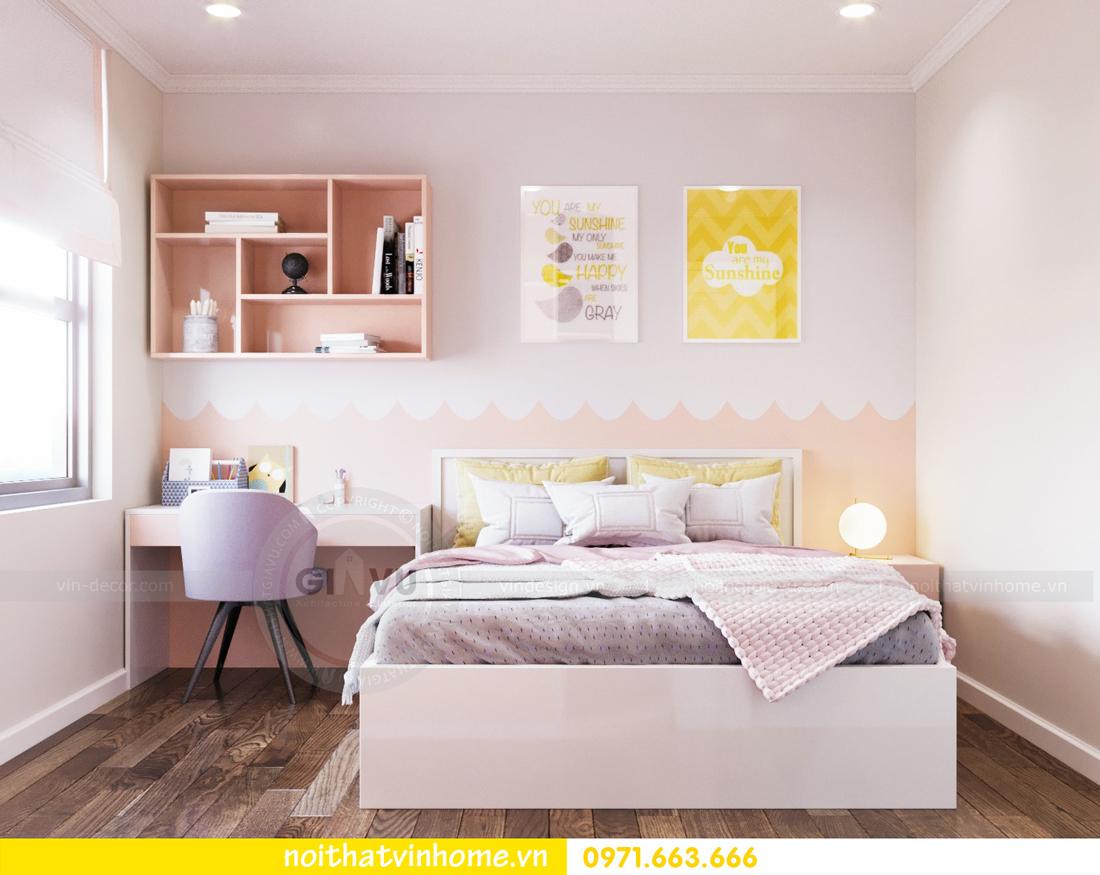 thiết kế thi công nội thất chung cư DCapitale tòa C7 căn 08 anh Sơn 10