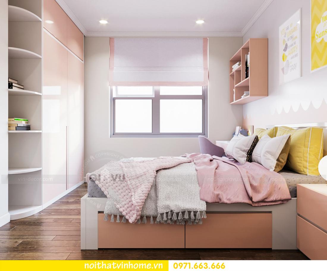 thiết kế thi công nội thất chung cư DCapitale tòa C7 căn 08 anh Sơn 11