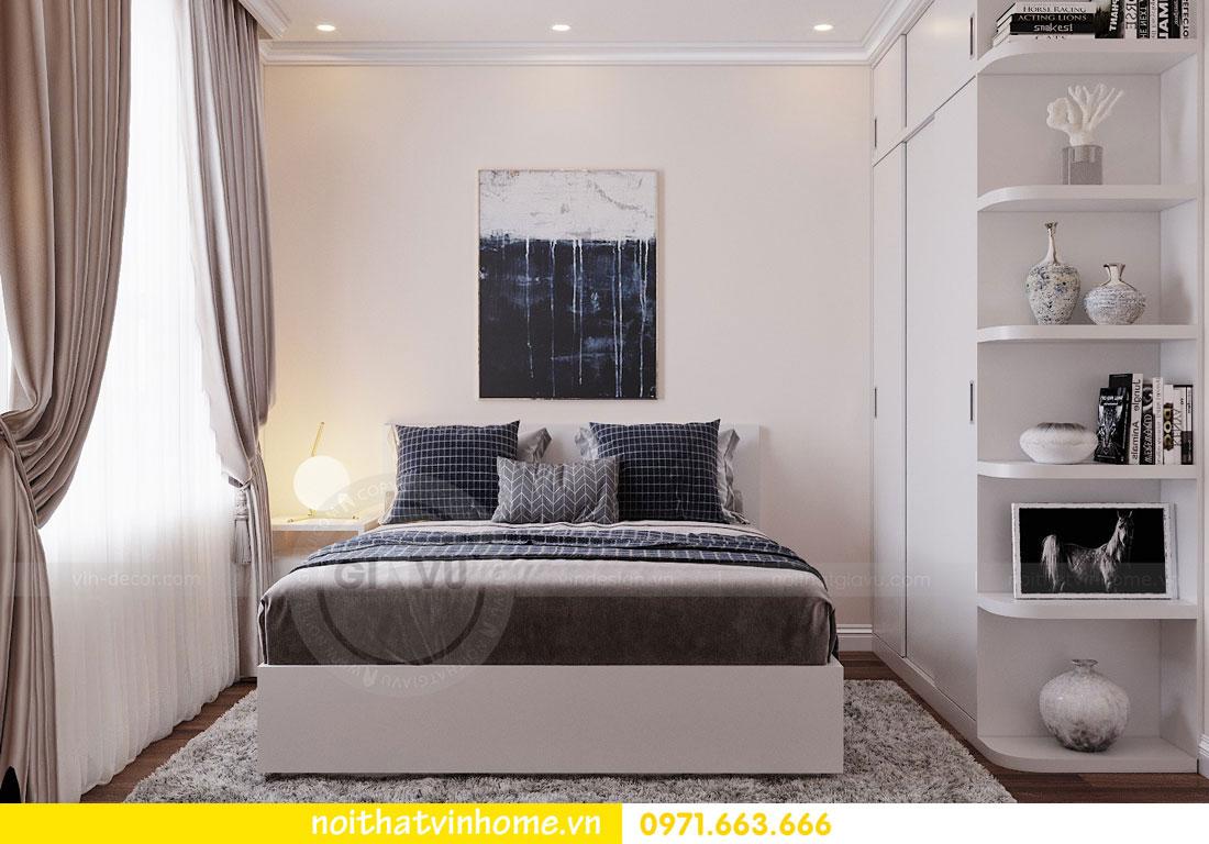 mẫu thiết kế nội thất đẹp tại chung cư DCapitale nhà chị Loan 10