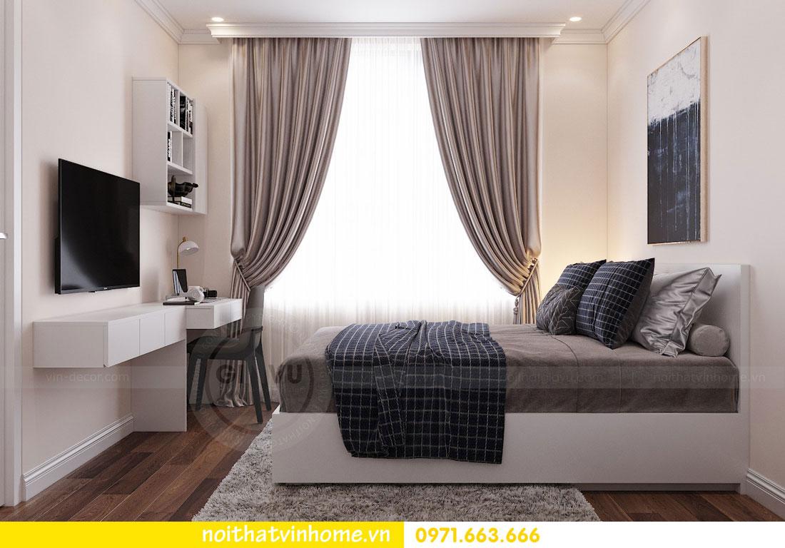 mẫu thiết kế nội thất đẹp tại chung cư DCapitale nhà chị Loan 11