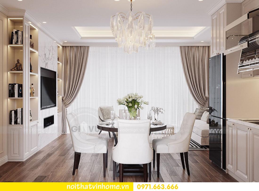 mẫu thiết kế nội thất đẹp tại chung cư DCapitale nhà chị Loan 3