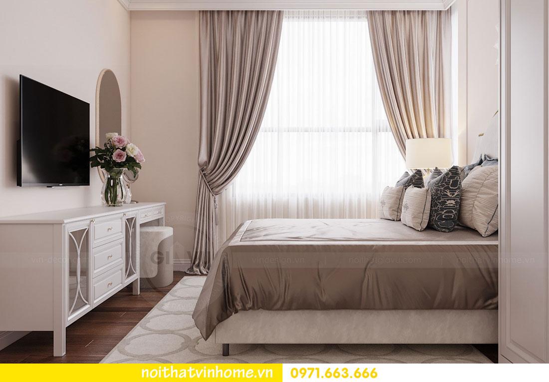 mẫu thiết kế nội thất đẹp tại chung cư DCapitale nhà chị Loan 5