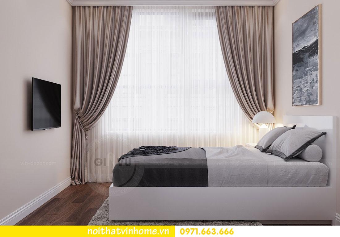 mẫu thiết kế nội thất đẹp tại chung cư DCapitale nhà chị Loan 8