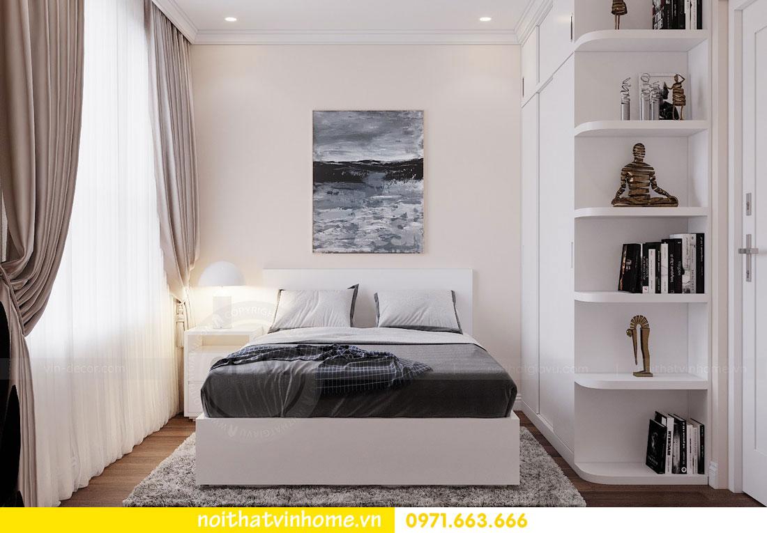 mẫu thiết kế nội thất đẹp tại chung cư DCapitale nhà chị Loan 9