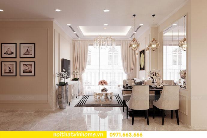 nội thất chung cư Vinhomes DCapitale tòa C6 căn hộ 04 chị Ưa 03