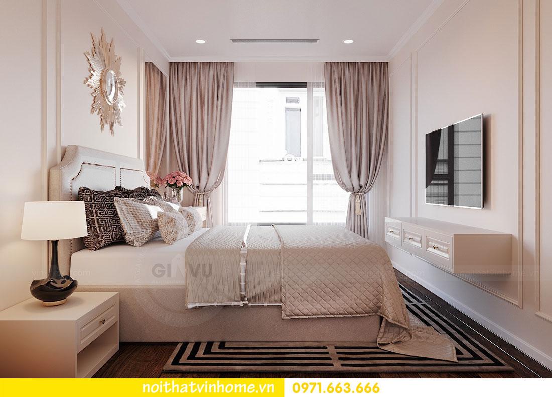 nội thất chung cư Vinhomes DCapitale tòa C6 căn hộ 04 chị Ưa 07