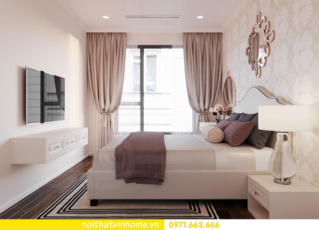 nội thất chung cư Vinhomes DCapitale tòa C6 căn hộ 04 chị Ưa 09