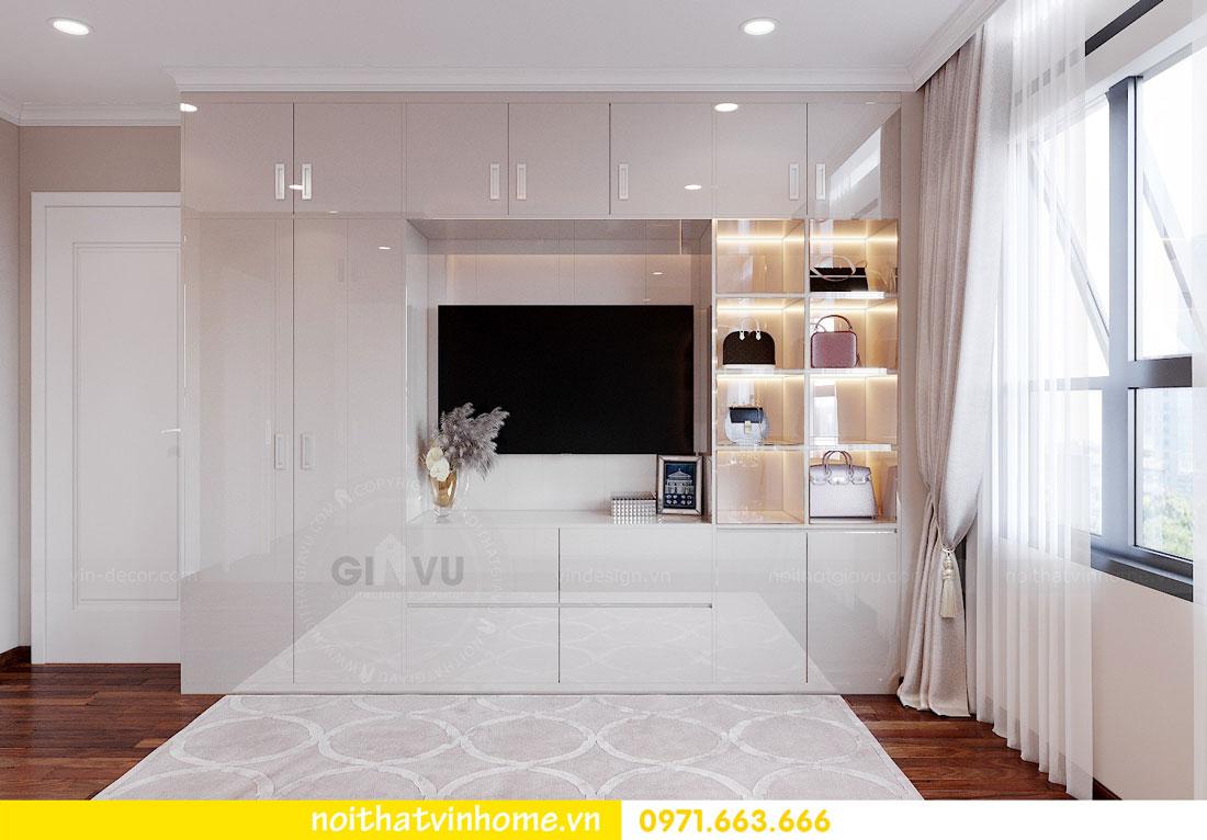 nội thất gỗ Acrylic trong thiết kế căn hộ nhà chị Huệ 6