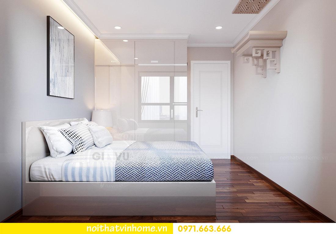 nội thất gỗ Acrylic trong thiết kế căn hộ nhà chị Huệ 9