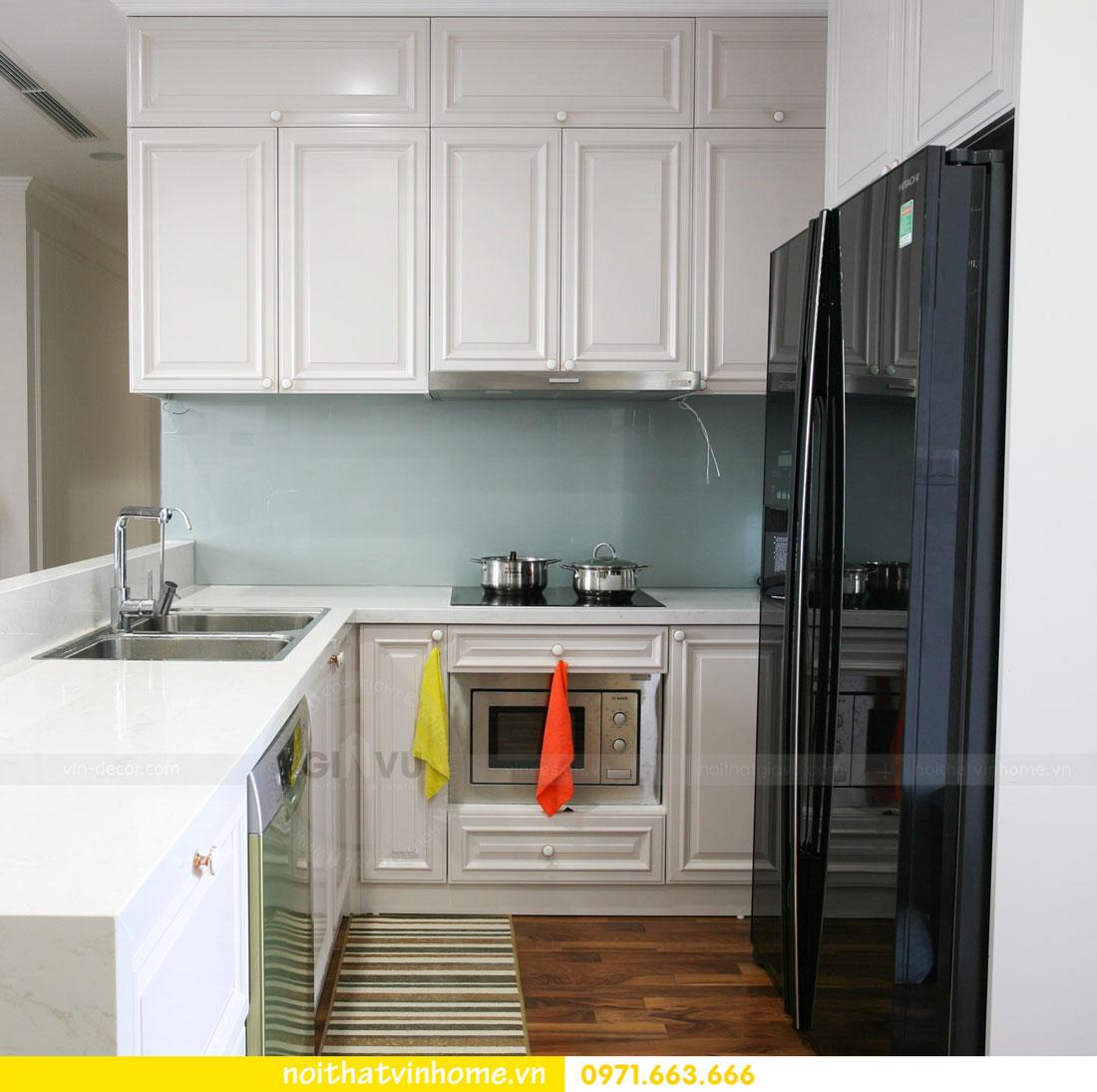 thi công nội thất căn hộ trọn gói tại chung cư DCapitale nhà anh Luân 2