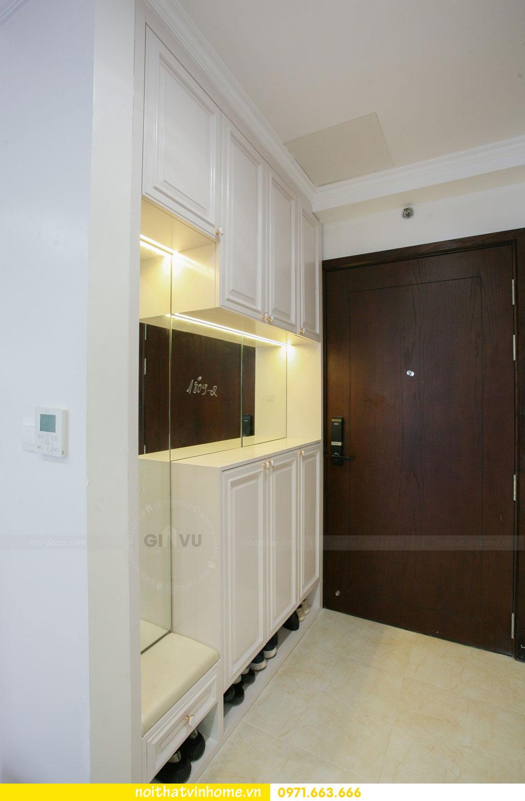 thi công nội thất căn hộ trọn gói tại chung cư DCapitale nhà anh Luân 1