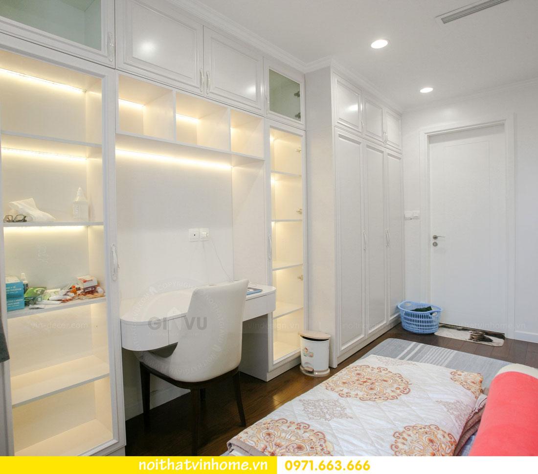 thi công nội thất căn hộ trọn gói tại chung cư DCapitale nhà anh Luân 10