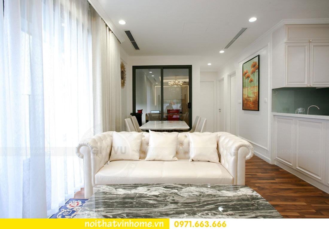 thi công nội thất căn hộ trọn gói tại chung cư DCapitale nhà anh Luân 8