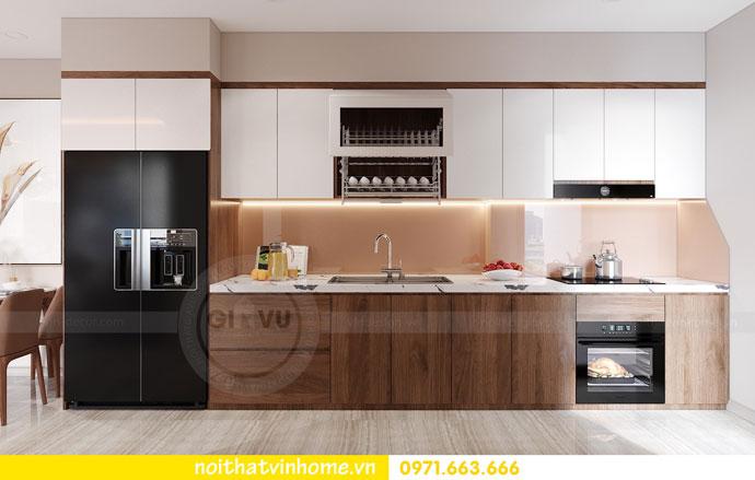 thiết kế nội thất căn hộ 63m2 đẹp sang trọng với phong cách hiện đại 2