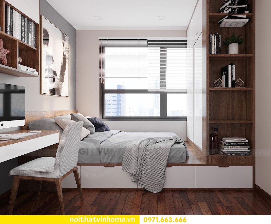thiết kế nội thất căn hộ 63m2 đẹp sang trọng với phong cách hiện đại 7