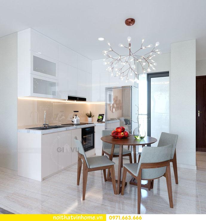thiết kế nội thất căn hộ chung cư đẹp tòa C1 căn 11 DCapitale 02
