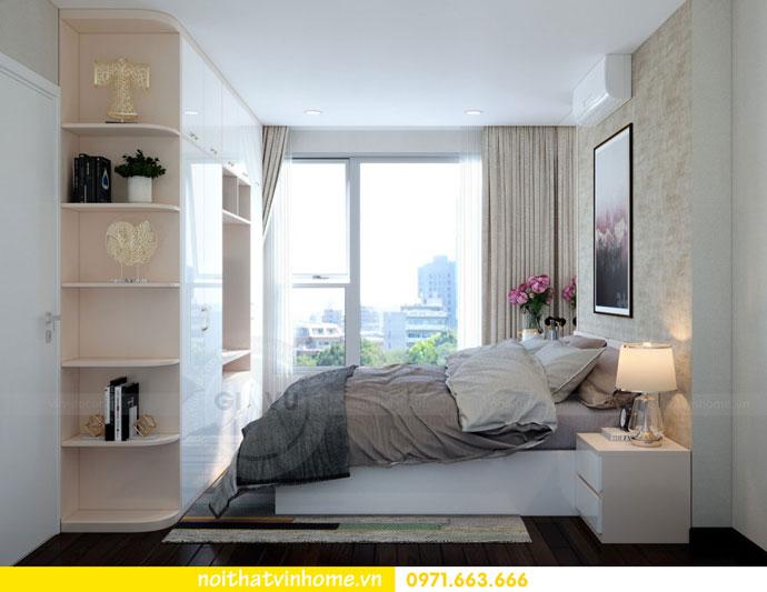 thiết kế nội thất căn hộ chung cư đẹp tòa C1 căn 11 DCapitale 06